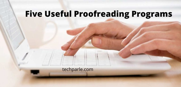 Five useful proofreading programs